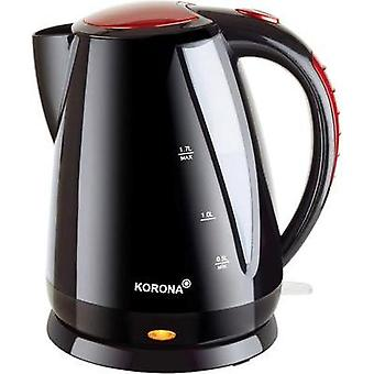 Kettle cordless Korona Black/red