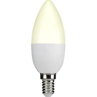 LED E14 Candle 3.3 W = 25 W Warm white (Ø x L) 38 mm x 105 mm EEC: A+ Sygonix 1 pc(s)