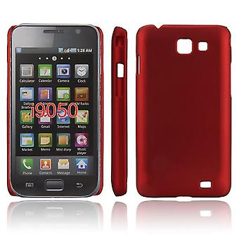Ultra-dunne zachte cover voor de Samsung Galaxy S Advance i9070 (rood)