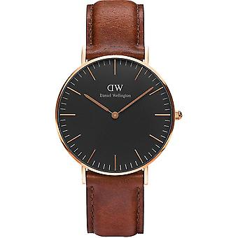 Shows Daniel Wellington St Mawes DW00100136 - Shows mixed Leather Brown