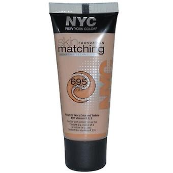 NYC hud matchende Foundation, kakao Light 695 30 ml