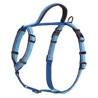Halti Nylon Walking Harness Blue Large 68-100cm