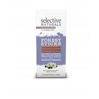 Selective Naturals Forest Sticks For Guinea Pigs With Blackberry & Chamomile 60g (Pack of 4)