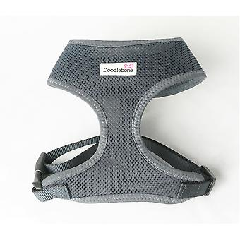 Doodlebone Mesh Harness Charcoal Extra Large 55-75cm