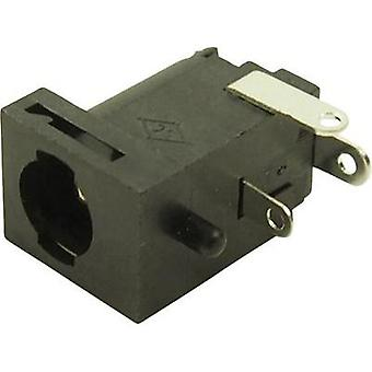 Low power connector Socket, horizontal mount 5.85 mm 2.5 mm