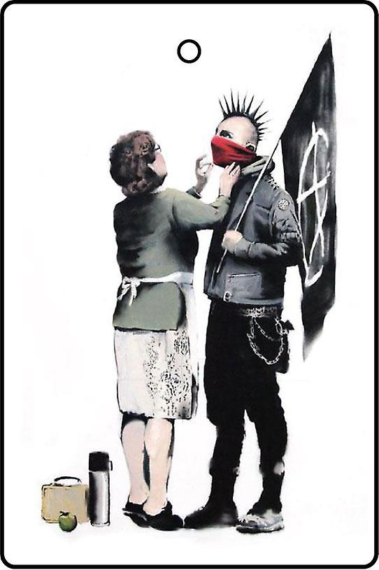 Banksy Anarchist And Mother Car Air Freshener