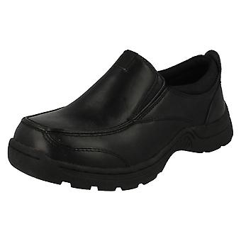 Boys Cool For School Slip On School Shoes
