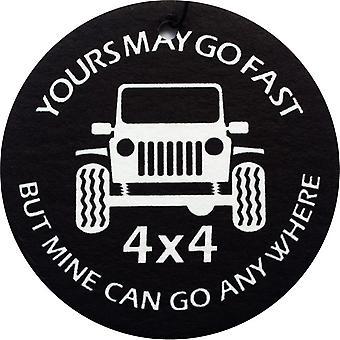 Mine Can Go Anywhere Car Air Freshener