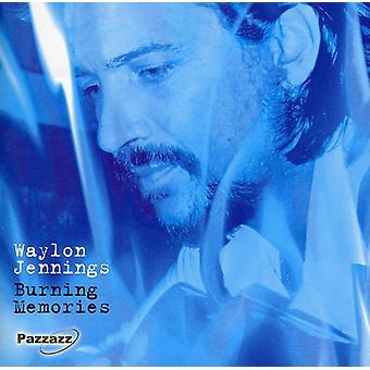 Waylon Jennings - Burning [CD] USA import