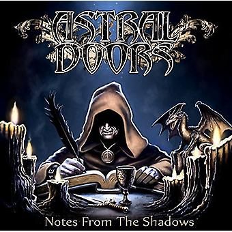Astral døre - noter fra the Shadows [CD] USA import