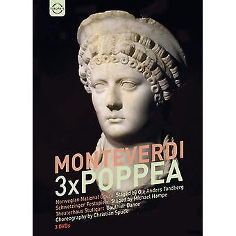 Claudio Monteverdi - Monteverdi: Poppea boks [DVD] USA import