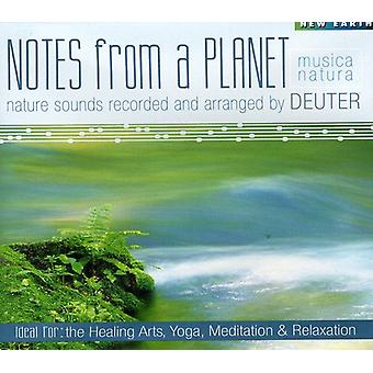 Deuter - noter fra en Planet [CD] USA import