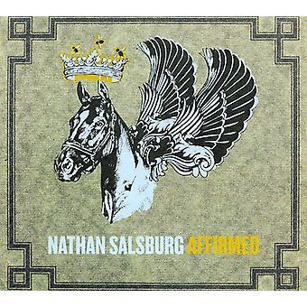 Nathan Salsburg - støttebevillingerne [CD] USA import
