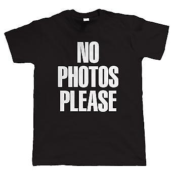 Bitte keine Fotos, Mens lustige T Shirt