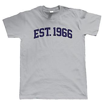 Vectorbomb, etableret 1966 Herre T Shirt (S til 5XL)