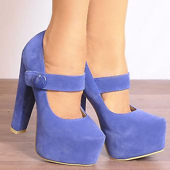 Koi Couture Ladies V36 Blue High Heels