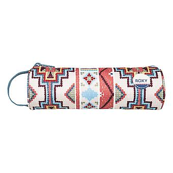 Roxy Off The Wall Pencil Case - Pale Dogwood