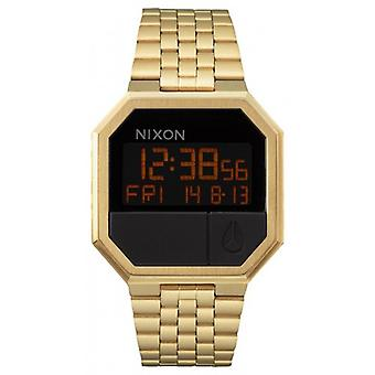 Nixon The Re-Run Watch - All Gold