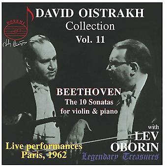Larsen Beethoven - David Oistrakh samling, Vol. 11 [CD] USA importerer