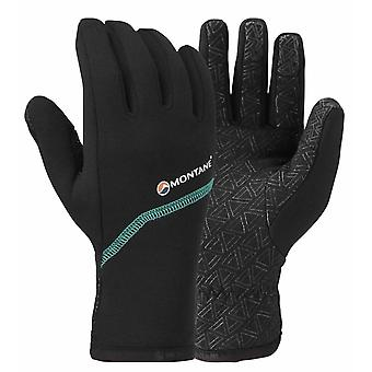 Montane Womens Power Stretch Pro Grippy Glove Black (Large)