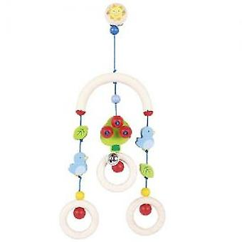 Goki Mini-trapeze bird (Toys , Preschool , Babies , Early Childhood Toys)