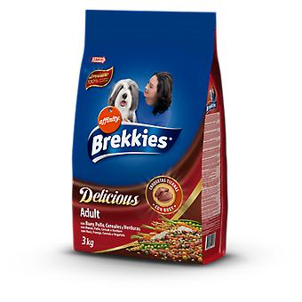 Brekkies Excel Tender & Delicious Beef (Dogs , Dog Food , Dry Food)