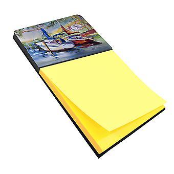 Carolines Treasures  JMK1053SN Lucky Dream Sailboat Sticky Note Holder