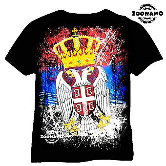 Zoonamo T-Shirt Serbia of classic