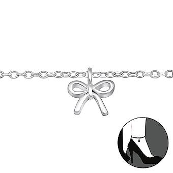 Bow - 925 Sterling Silver Anklets - W30320x