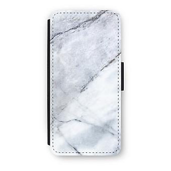iPhone 5C Flip Case - marmo bianco
