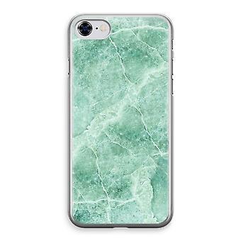 أي فون 8 حالة شفاف-رخام أخضر