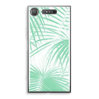 Sony Xperia XZ1 Transparant caso (suave) - Palma