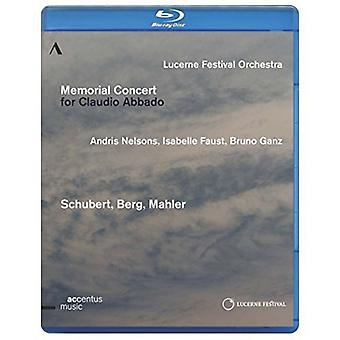Memorial Concert for Claudio Abbado [BLU-RAY] USA import