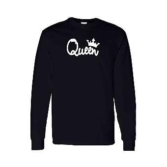 Unisex Long Sleeve Shirt Bow Down To the Queen