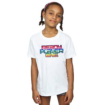Ready Player One meisjes Rainbow Logo T-Shirt