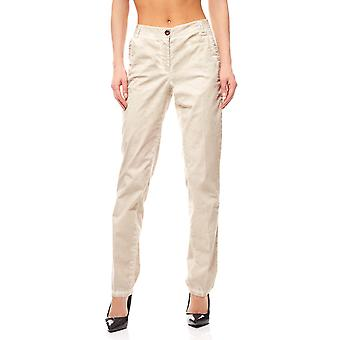 Chinohose pants women beige travel Couture by heine