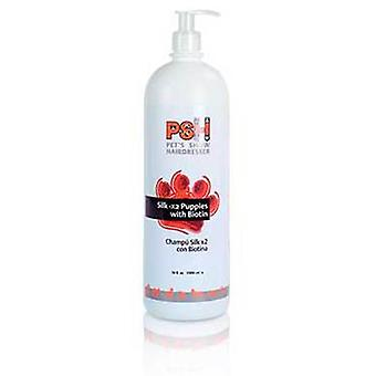 PSH Silk Shampoo Bottle 5L X2 With Biotin (Dogs , Grooming & Wellbeing , Shampoos)