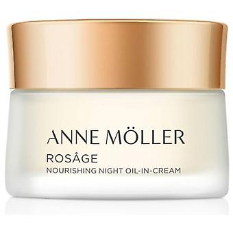 Anne Möller Rosage Night Oil-In-Cream 50 ml (Cosmética , Facial , Cremas tratamiento)