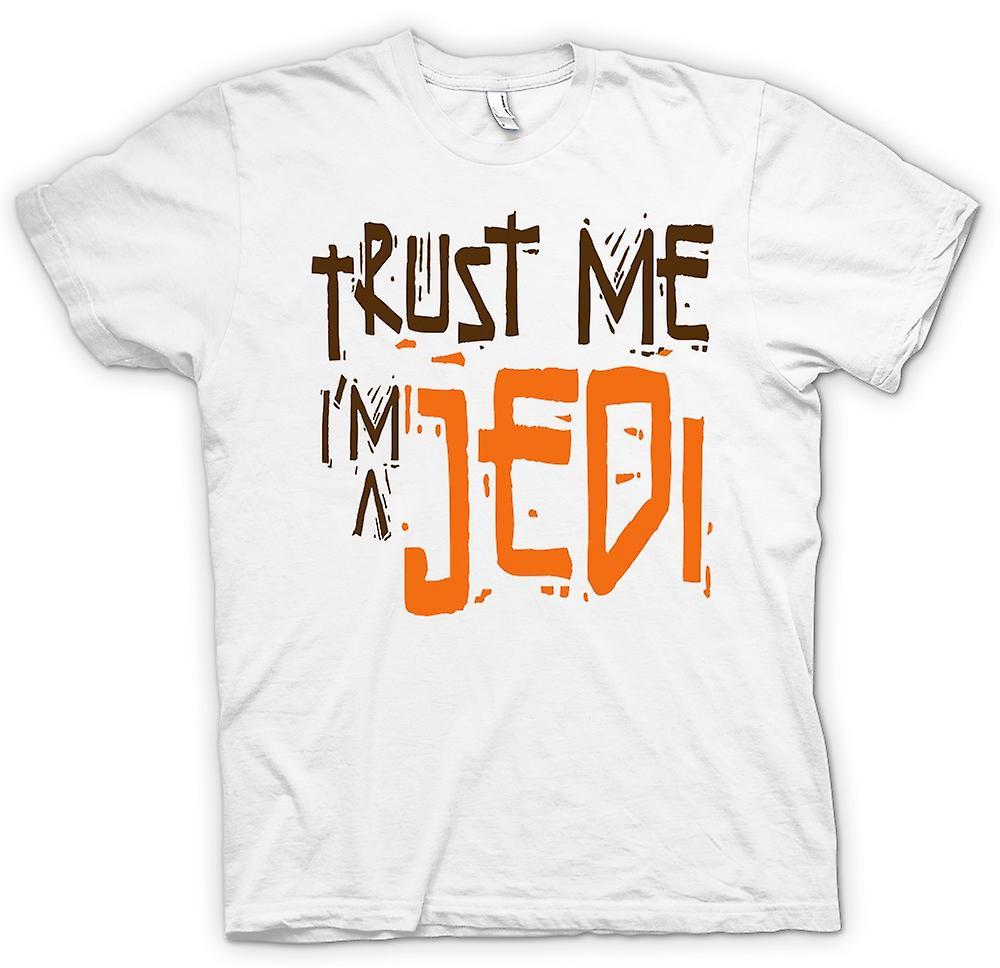 Womens T-shirt - Trust Me I'm A Jedi - Funny