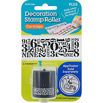 Decoration Stamp Roller-Numbers