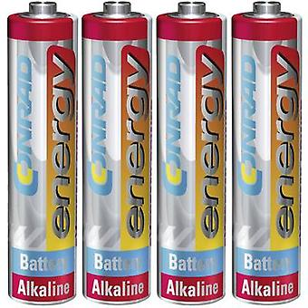 AAA battery Alkali-manganese Conrad energy Extreme Power LR03