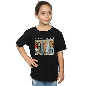 Friends Girls Group Photo Stairs T-Shirt