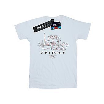 Friends Women's Love Laughter Boyfriend Fit T-Shirt