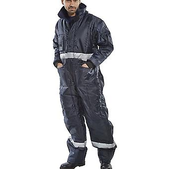 Click Coldstar Freezer Insulated Coveralls With Kneepad Pockets - Ccfc