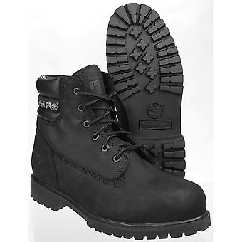 Timberland Mens Traditional Wide Fitting Lace up Leather Work Safety Boot