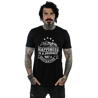 Drewbacca Men's Happiness Is A Journey T-Shirt