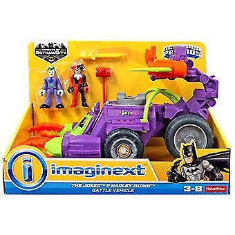 Imaginext Joker & Harley Quinn Battle fordon