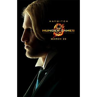 The tribute by panem poster Haymitch original movie poster in US size, limited edition!