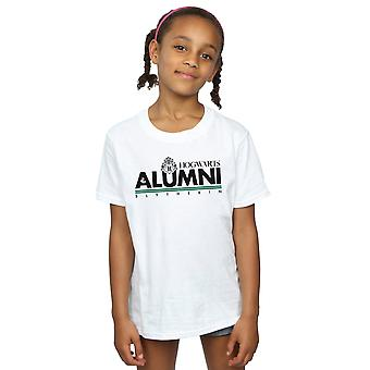 Harry Potter flickor Hogwarts Alumni Slytherin T-Shirt
