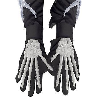 Smiffy's Skeleton Gloves Adult